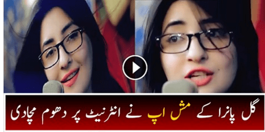 Coke Studio Par Dhoom Macha Dene Wali Gul Panra Ky Mashup Ny Internet Par Dhoom Macha Di, Video Dekhen
