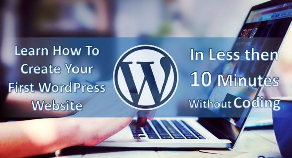 Create website in just 10 minutes