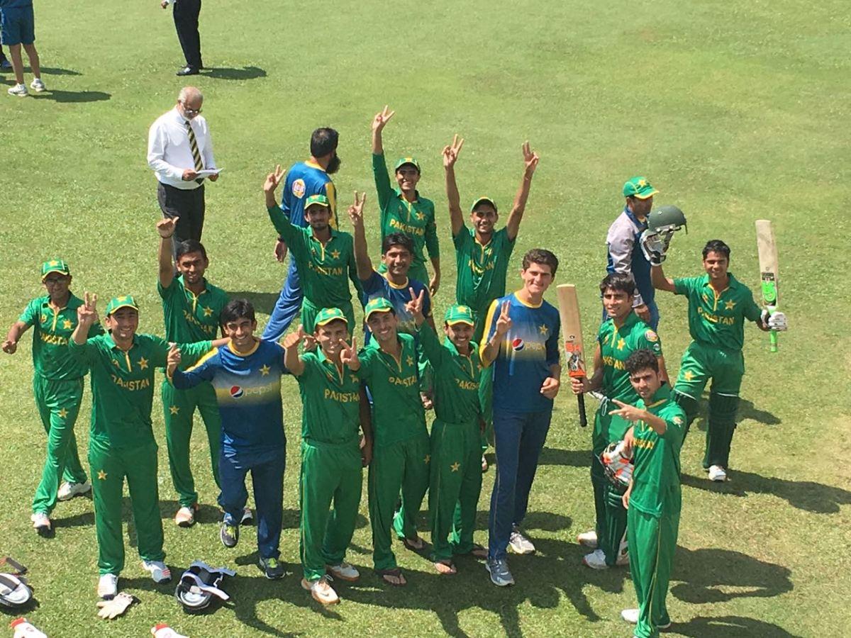 پاکستانی کرکٹ ٹیم فائنل میں پہنچ گئی
