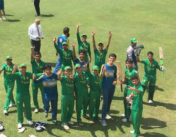 Pakistani u19 team
