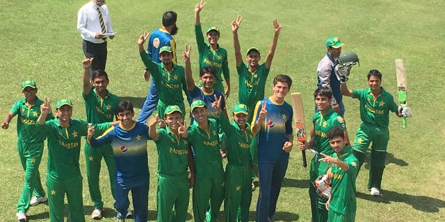 Pakistani u19 team