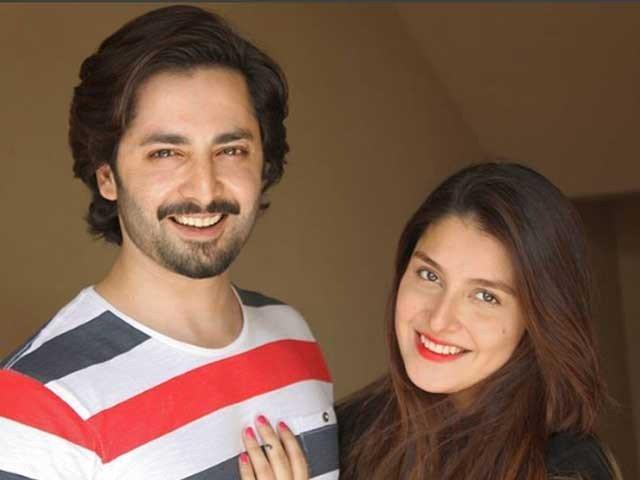 عائزہ خان اور دانش تیمورکے ہاں بیٹی کے بعد بیٹے کی پیدائش