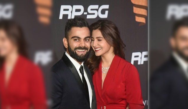Kohli and Anushka