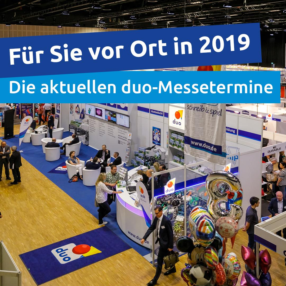 Messetermine 2019