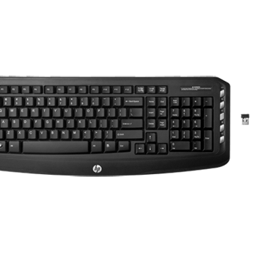 HP Wireless Classic Desktop (Keyboard and Mouse Set)