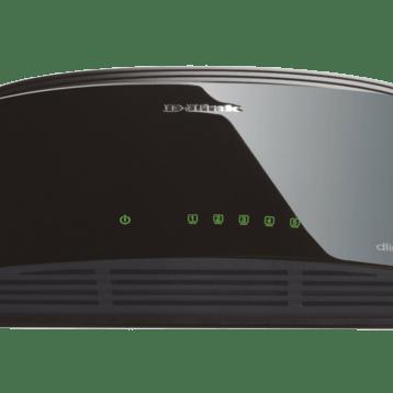 D-Link 5-Port Fast Ethernet Unmanaged Desktop Switch DES-1005D