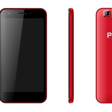 """Proline XM-502 Android Phone 5"""" Boston Red"""