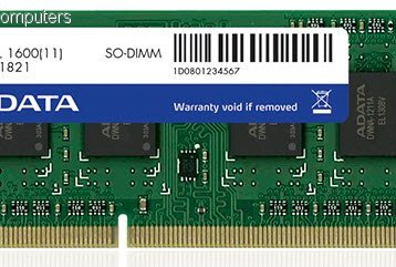 Adata DDR3 1600 SO-DIMM Low Voltage Single Tray