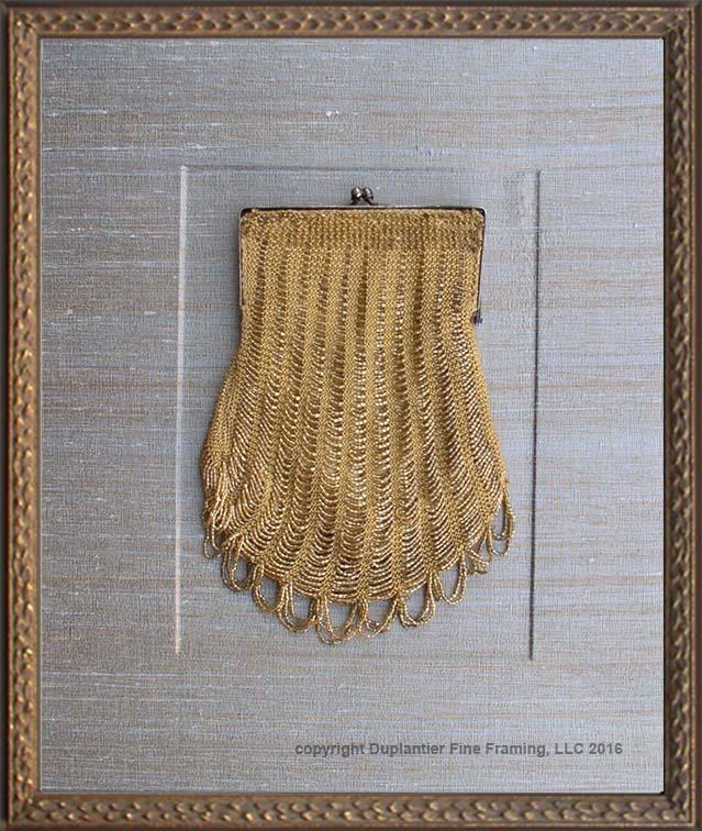 Handbag - Victorian Flared Gold-Tone