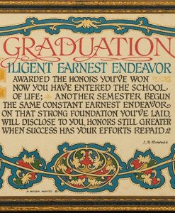 Buzza Motto – Graduation by J.B. Downie