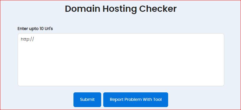Проверка хостинга доменов