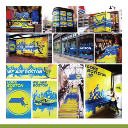 [production] in-store & city signage