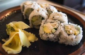 (Claire Murray/Photo Editor) The California Rolls were fresh, but average at best.