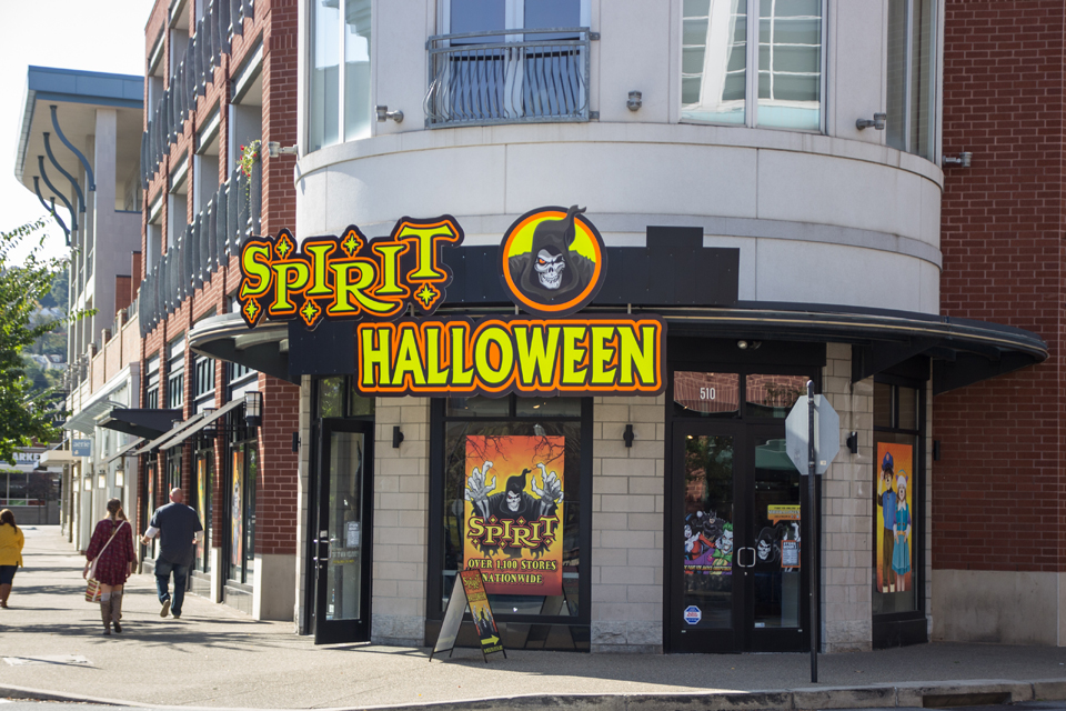 Photo by Claire Murray | Photo Editor. Spirit Halloween in the South Side is the place to go if you're still searching for that perfect costume.