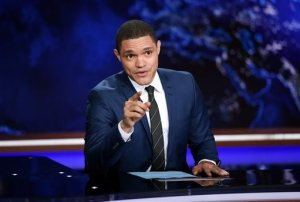 "AP Photo Trevor Noah took over as the new host of the ""Daily Show"" after John Stewart ended his 16 year run as host"