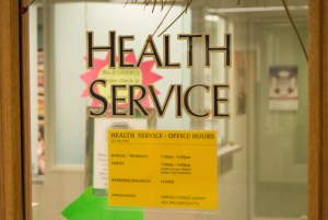 By Joseph Guzy | Photo Editor Health Services on the second floor of the Union is open Monday through Friday.