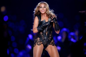 Courtesy of The Verge Appearing alongside Coldplay, Beyonce performed at Super Bowl 50. Her show has drawn both criticism and praise for its focus on racial issues.