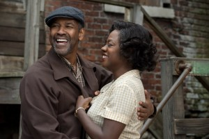 "Courtesy of Paramount Pictures Denzel Washington and Viola Davis reprise their roles as Troy and Rose Maxson from the Broadway revival of ""Fences"" for the film adaptation. Both Washington and Davis were nominated for Golden Globes for their roles, with Davis winning last Sunday."