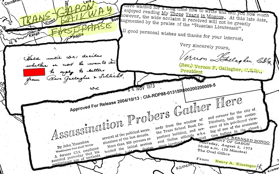 Documents Courtesy of the CIA | Design by Seth Culp-Ressler | Features Editor
