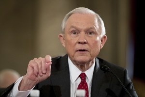 AP Photo  Senator Jeff Sessions testifies before the U.S. Senate Judiciary Committee on January 10. He was nominated for the position of United States Attorney General .