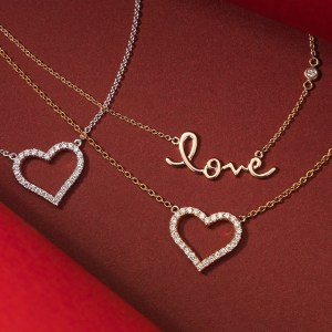 AP Photo Jewelry is always a big seller on Valentine's Day, but even the shiny stuff is predicted to take a dip in sales this season. Perhaps that's a good thing.