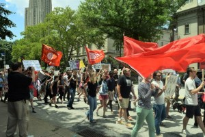 Pittsburgh March Against War