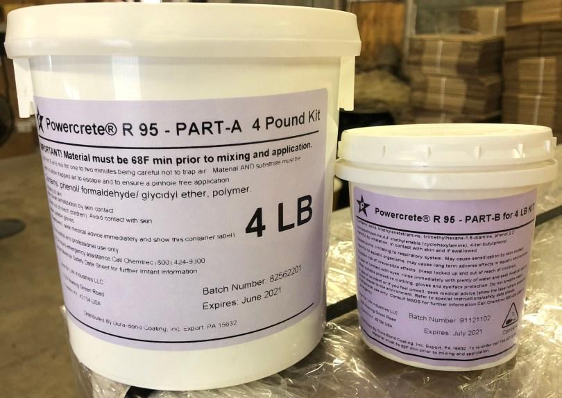 Powercrete R-95 Distributor