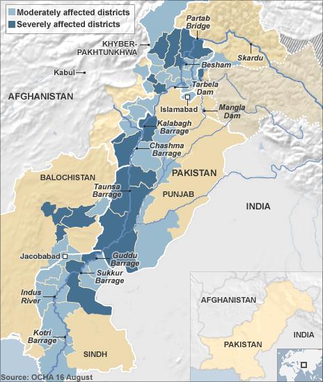 Pakistan Flood Update (Aug 16, 2010)
