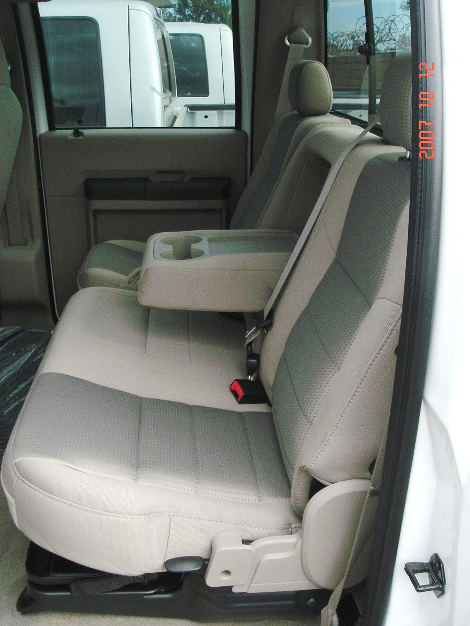 2004 2010 Ford F250 F550 Super Crew Front And Rear Seat