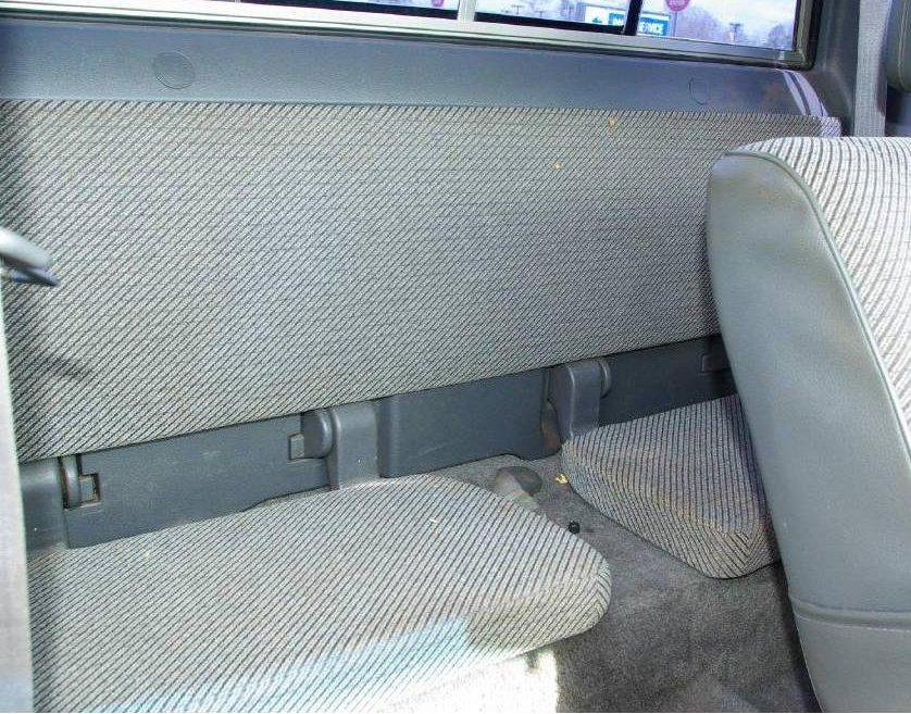 1989 1995 Toyota Pickup Xcab Rear Solid Back 50 Split Bottom Bench Seat
