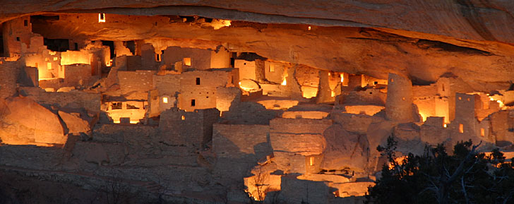 Close Cliff Palace Mesa Verde