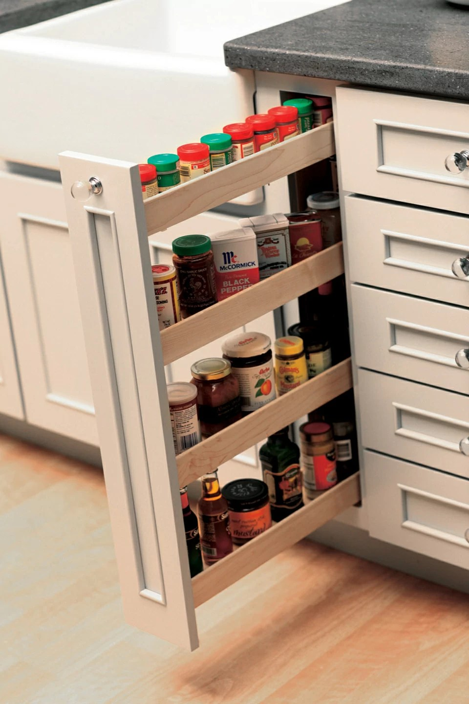 pull out spice rack dura supreme