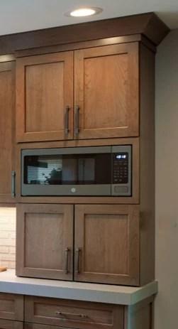 where should the microwave go dura