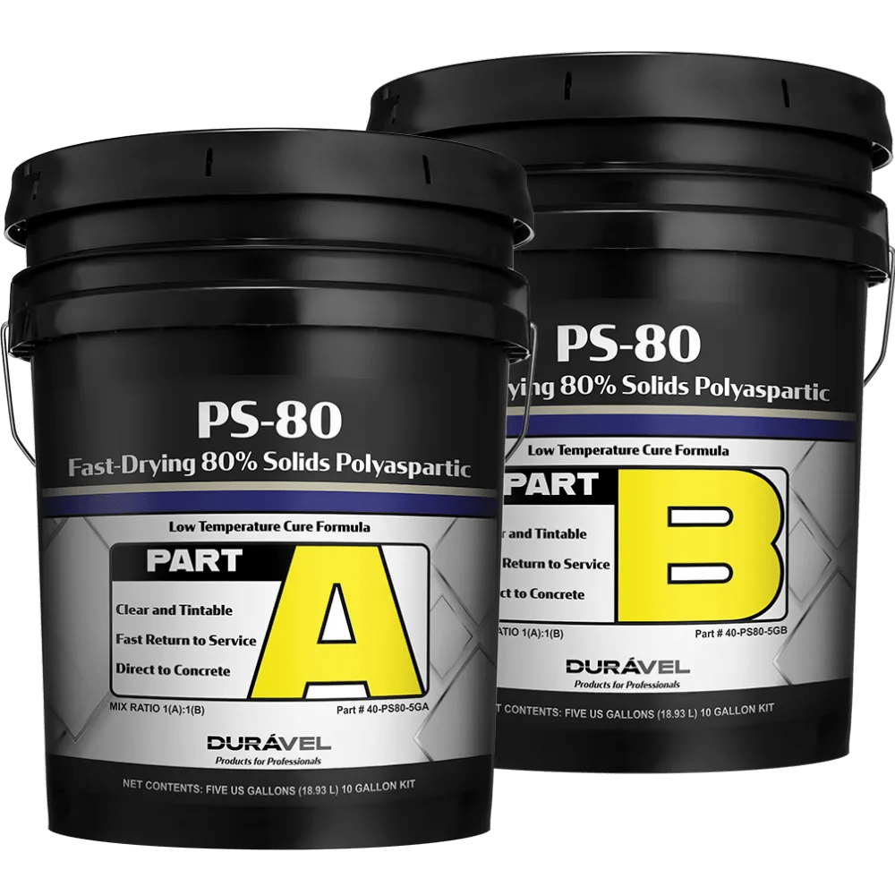Fast-Drying 80% Solids Polyaspartic
