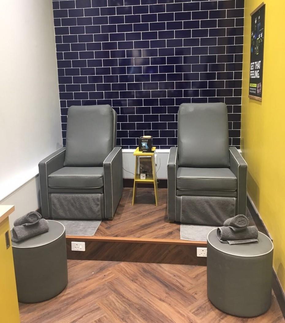 Sorbet Man Treatment Corner