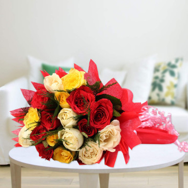 Sundry Mix Roses Delivery Durgapur