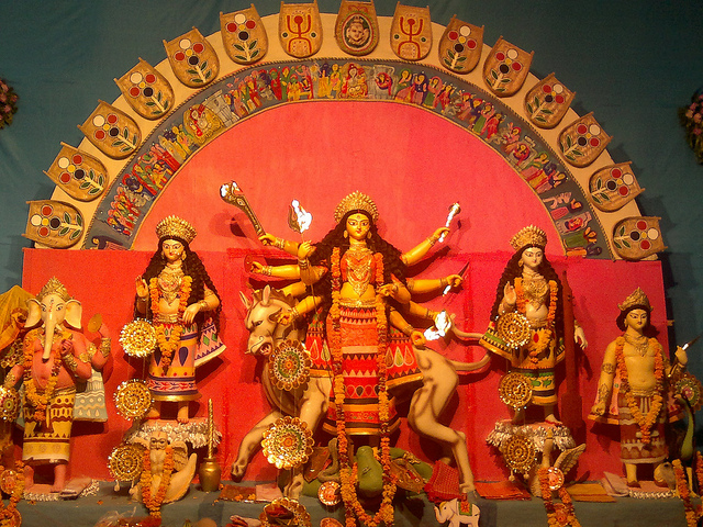 best durga puja celebration in Pune