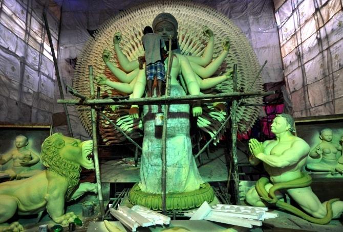 Deshapriya Park Durga Puja 2016