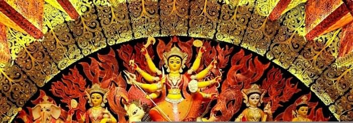 Chaltabagan Lohapatty Durga Idol Image