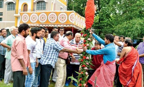 Khuti Puja countdown to Durga Puja