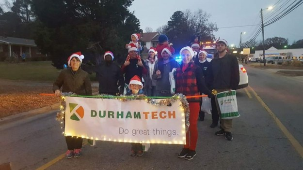 Durham Tech EMS at Hillsborough Holiday Parade