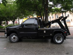 24-Hour Towing Service Truck