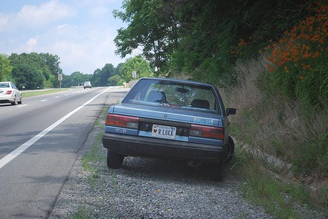 Broke Down Car in North Carolina