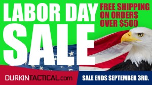 Durkin Tactical Labor Day Sale Web Banner
