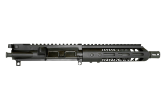 "AR-15 Upper Assembly, 7.5"" Parkerized 4150 Steel Heavy Barrel, .300 Blackout, 1:8 Twist w/ 7"" MLOK"