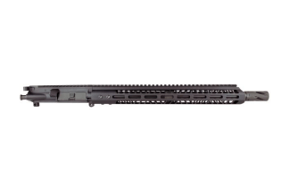 "AR-15 Complete Upper, 16"" 4150 Parkerized Heavy Barrel, (.50 Cal), 1:20 Twist w/ 15"" MLOK Rail"