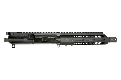 "AR-15 Complete Upper Assembly, 10.5"" 4150 Parkerized Heavy Barrel, .450 Bushmaster, 1:24 Twist w/ 10"" MLOK Rail"