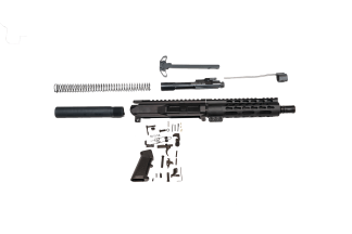 ar 15 stubby 7.5 in build kit