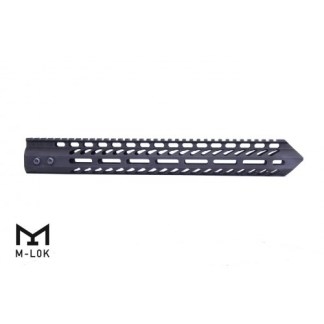 "15"" ""TRIDENT"" SERIES ULTRA LIGHTWEIGHT THIN M-LOK FREE FLOATING HANDGUARD"