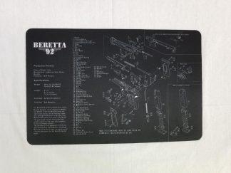 Beretta 92 Pistol Build Mat